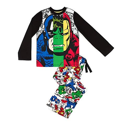 Pyjama Avengers Rassemblement de Marvel pour enfants - 11-12 ans