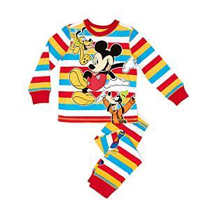 Läs mer om Musse Pigg och hans vänner-pyjamas i barnstorlek