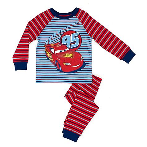 Pyjama Cars de Disney Pixar pour enfants - 5-6 ans