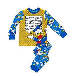 Läs mer om Kalle Anka-pyjamas i barnstorlek