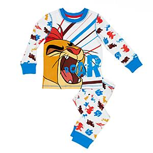 Läs mer om Lejonvakten Kion-pyjamas i barnstorlek