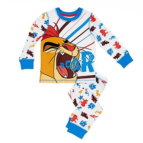 Pyjama Kion de La Garde du Roi Lion pour enfants - 4 ans