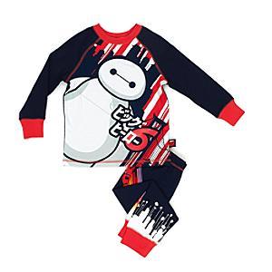 Läs mer om Baymax pyjamas för barn, Big Hero 6