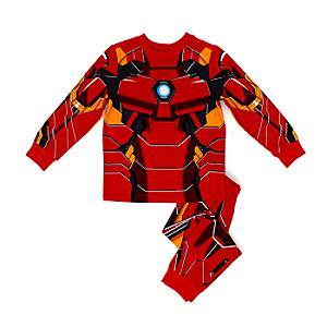 Läs mer om Iron Man pyjamas för barn