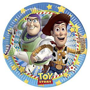 Läs mer om Toy Story partytallrikar, set med 8