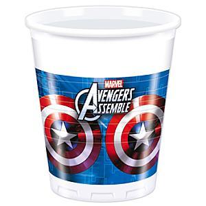 Läs mer om Avengers partymuggar, set med 8
