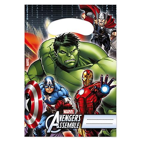 Lot de 6 sachets cadeaux Avengers