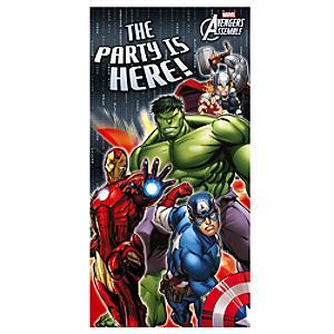 Läs mer om Avengers dörrbanderoll