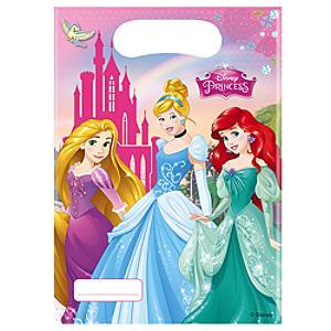 Läs mer om Disney Prinsessor partypåsar, 6-pack