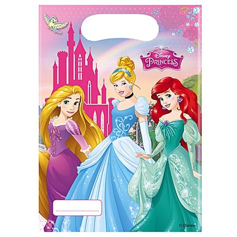 Ensemble de 6 sachets cadeaux Princesses Disney