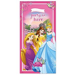 Läs mer om Disney Prinsessor dörrbanderoll