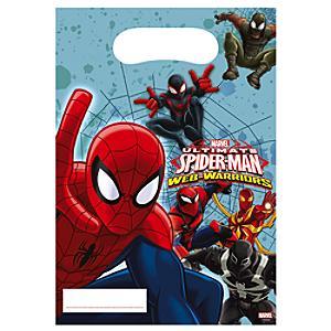 Läs mer om Spiderman partypåsar, 6-pack