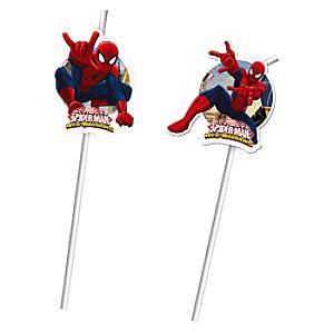 Läs mer om Spiderman 6x böjbara sugrör