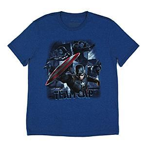 Läs mer om Marvel Teams t-shirt, Captain America: Civil War