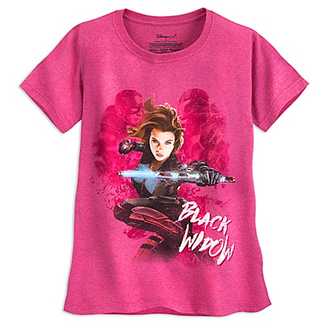 T-shirt Black Widow, Captain America : Civil War pour femmes - XS
