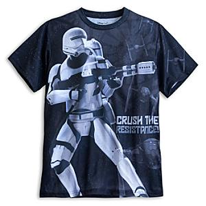 Läs mer om Star Wars Flame t-shirt i herrstorlek