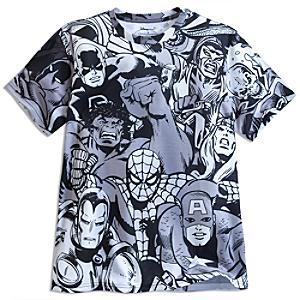 Läs mer om Marvel Comic t-shirt i herrstorlek