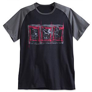 Läs mer om Musse Pigg och hans vänner t-shirt i herrstorlek
