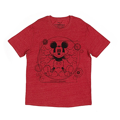 T-shirt Mickey Mouse pour hommes - M