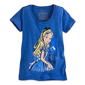 Läs mer om Alice i Underlandet t-shirt i damstorlek
