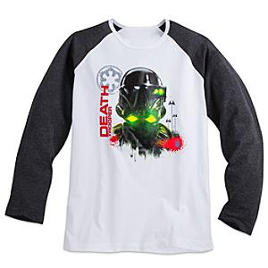 Läs mer om Death Trooper långärmad t-shirt i herrstorlek, Rogue One: A Star Wars Story