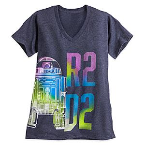 Läs mer om R2-D2 t-shirt i damstorlek, Star Wars: The Force Awakens