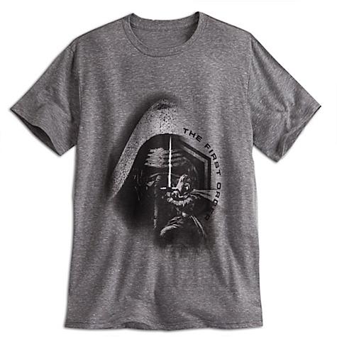 T-shirt pour hommes Kylo Ren, Star Wars : Le Réveil de la Force - S