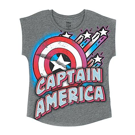 T-shirt Captain America pour enfants - 11-12 ans