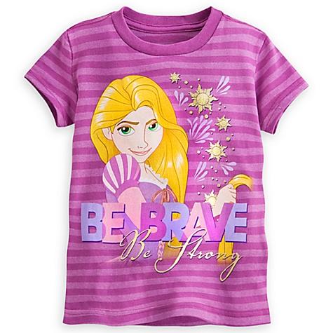T-shirt Raiponce Be Brave pour enfants - 2-3 ans