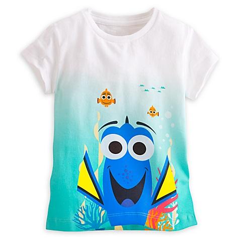 T-shirt Dory à imprimé dégradé pour enfants - 5-6 ans
