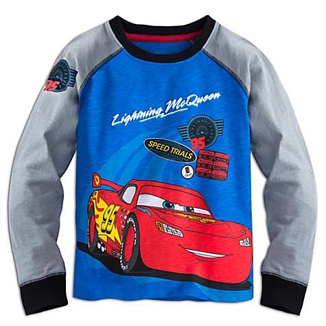 Chemise à manches longues Flash McQueen Disney Pixar Cars - 7-8 ans