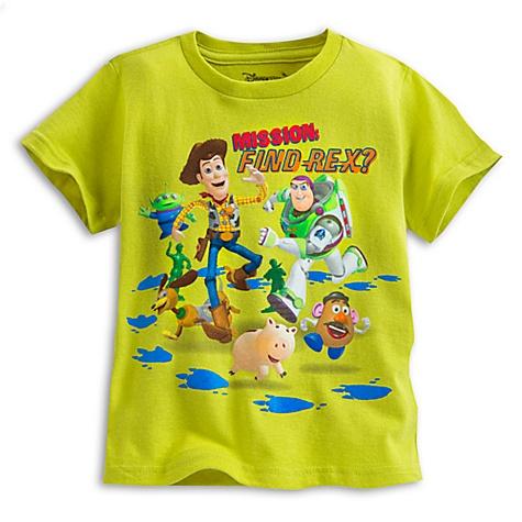 T-shirt Toy Story pour enfants - 4 ans