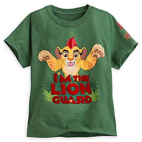 T-shirt vert La Garde du Roi Lion pour enfants - 2-3 ans