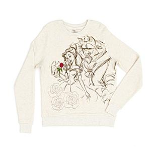 Art Of Belle Ladies Sweatshirt