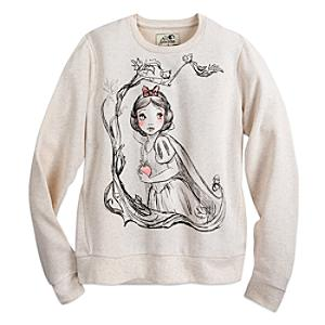 Läs mer om Art of Snow White sweatshirt i damstorlek