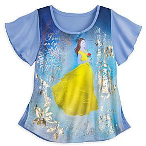 Läs mer om Skönheten och Odjuret t-shirt (flickor)