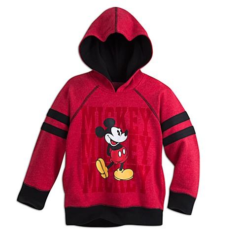 Sweatshirt à capuche Mickey Mouse pour enfants - 7-8 ans