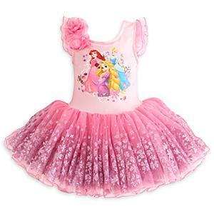 Läs mer om Disney Prinsessor lyxig ballerinadräkt