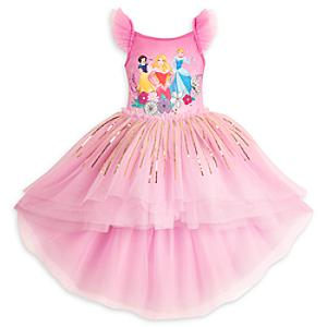Läs mer om Lyxig Disney Prinsessor-ballerinadräkt