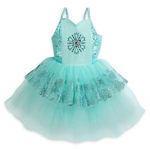 Läs mer om Frost Premium, leotard med ballerinakjol för barn