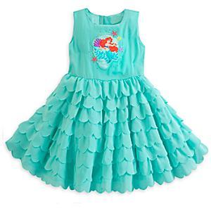 Läs mer om Den lilla sjöjungfrun festklänning