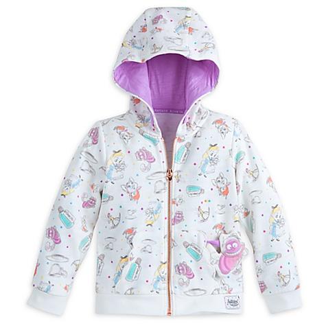 Sweatshirt à capuche Alice au Pays des Merveilles de la collection Disney Animators pour enfants - 5-6 ans