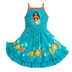 Läs mer om Vaiana-solklänning för barn