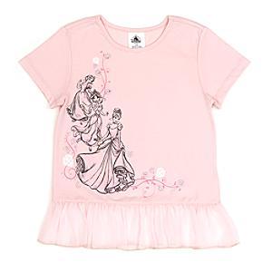 Läs mer om Disney prinsessor t-shirt för barn