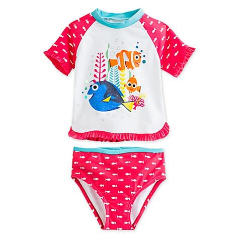 Ensemble t-shirt de bain 2 pièces Le Monde de Dory pour enfants - 3 ans