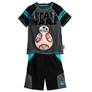 Läs mer om Star Wars: The Force Awakens-shortsset för barn med BB-8-överdel