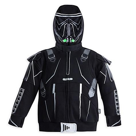 Sweat à capuche Death Trooper pour enfants, Rogue One: A Star Wars Story - 5-6 ans