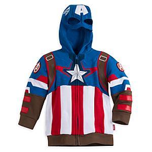 Läs mer om Captain America-huvtröja i barnstorlek