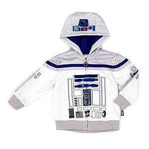 Läs mer om R2-D2-huvtröja för barn, Star Wars