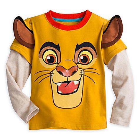 T-Shirt à manches longues Kion de La Garde du Roi Lion pour enfants - 4 ans